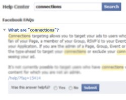facebook privacy connections settings