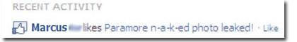 facebook likejacking malicious link paramore n-a-k-ed photo leaked