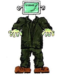 frankenstein computer virus