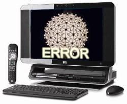 happy new years computer error malware