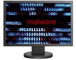 malware infected computer
