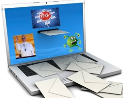 pope themed spam malware attacks