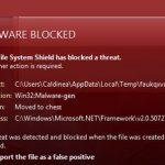 Win32 malware.gen Image 1