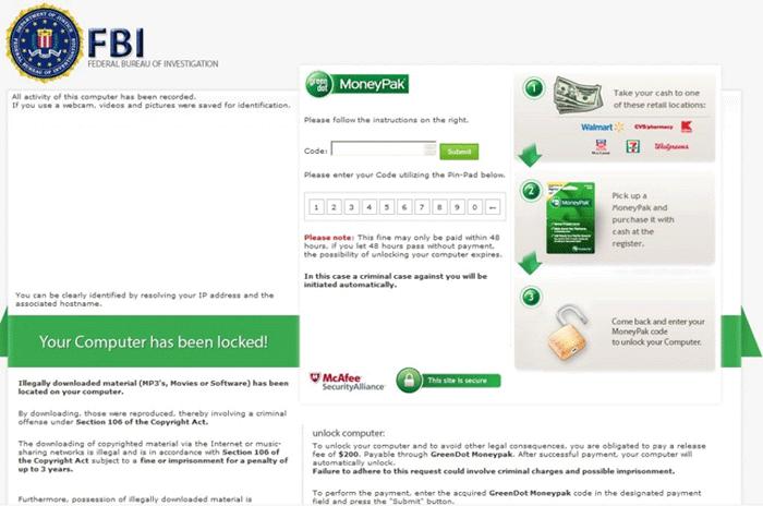 moneypak validating address information