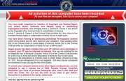 'FBI Your Browser Has Been Blocked' Ransomware Image 1