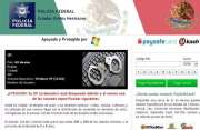 'Policia Federal Mexico' Ransomware Image 1