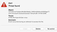 HTML / ScrInject.B.Gen屏幕截图