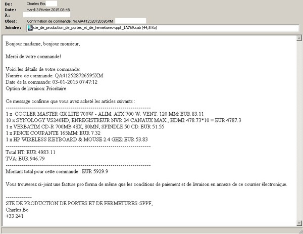 french malicious email ctb-locker ransomware infection