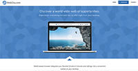 WebDiscover Browser Screenshot