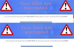 crypmic cryptxxx ransomware similarities cash in