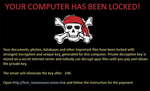 holycrypt ransomware threat message