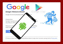 google finds android malware on store