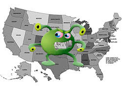 USA 50 states highest malware rates esg