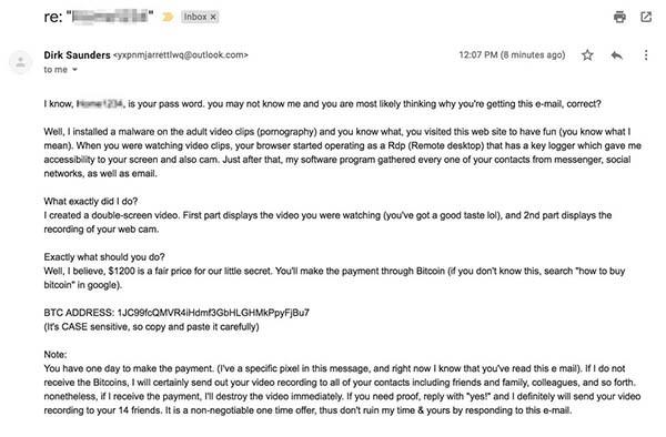 blackmail email scheme porn view leveraging
