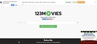 123電影廣告截圖