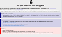 Adage Ransomware Ransomware Screenshot