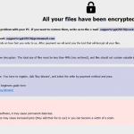 Adame Ransomware screenshot