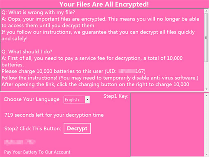 ExpBoot Ransomware Removal Report