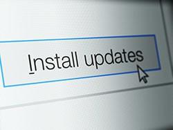 Beware: Fake Windows Update Emails Installs Cyborg Ransomware screenshot