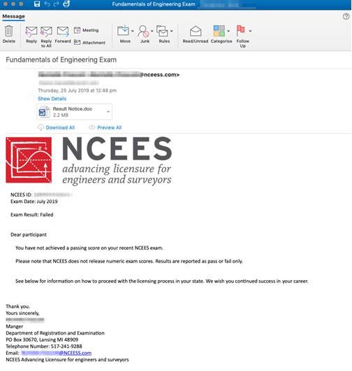 lookback malware phishing email