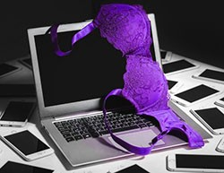 sextortion scams password protected files evidence