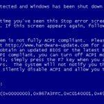 How to Fix 0X000000A5 Blue Screen Stop Error screenshot