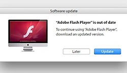 adload flash player prompt