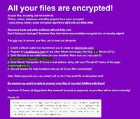 BitPyLock Ransomware Screenshot