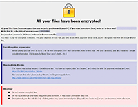 Dever Ransomware Screenshot