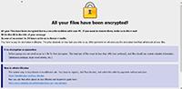 Devos Ransomware Screenshot