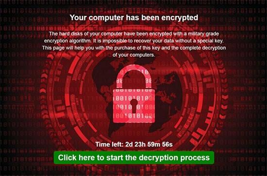 Ekati Ransomware screenshot