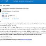Snimka zaslona Emotet Malware koristi američku izbornu kampanju kao mamac