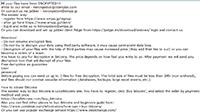 GarrantyDecrypt Ransomware Screenshot