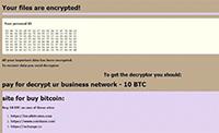 Globe Imposter 2.0 Ransomware Screenshot