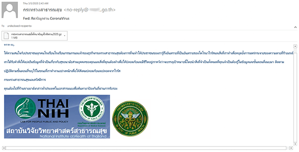 fake email scam