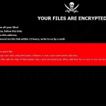 .HOW Ransomware screenshot