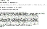 WastedLocker Ransomware Screenshot