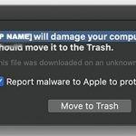 Message «StandartProduct endommagera votre ordinateur» screenshot