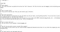 Fair Ransomware Screenshot