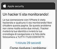 'Peachland.eu' Pop-Up Scam Screenshot