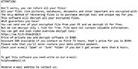 Wrui Ransomware Screenshot