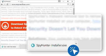 Instructions to Download and Install SpyHunter - Remove