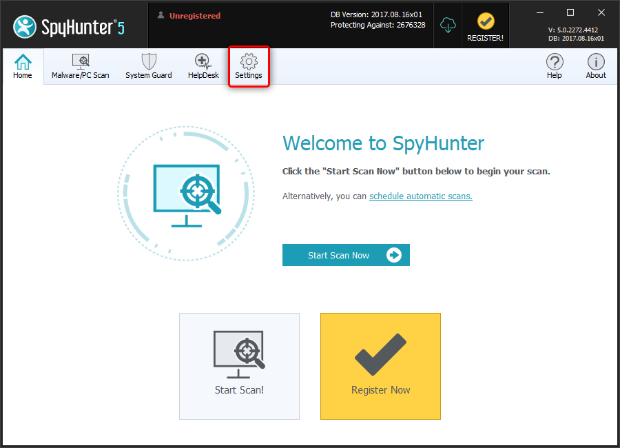 spyhunter 5 activate your account